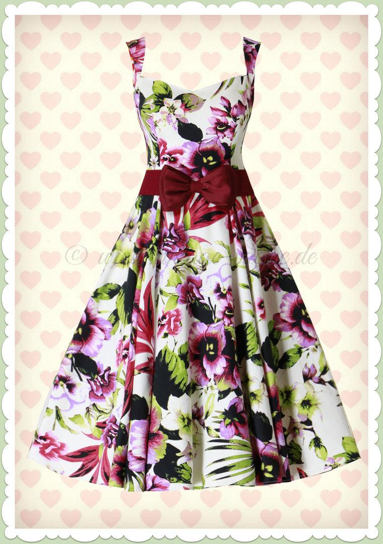 Sommerkleid Strickkleid Cocktailkleid Gr 34-46 weiß schwarz rot blau rosa lila