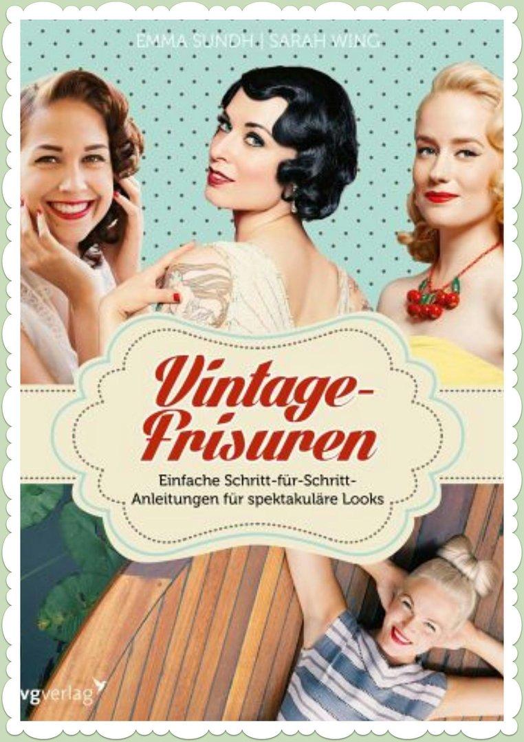 Vintage Frisuren Buch Schritt Fur Schritt Anleitungen