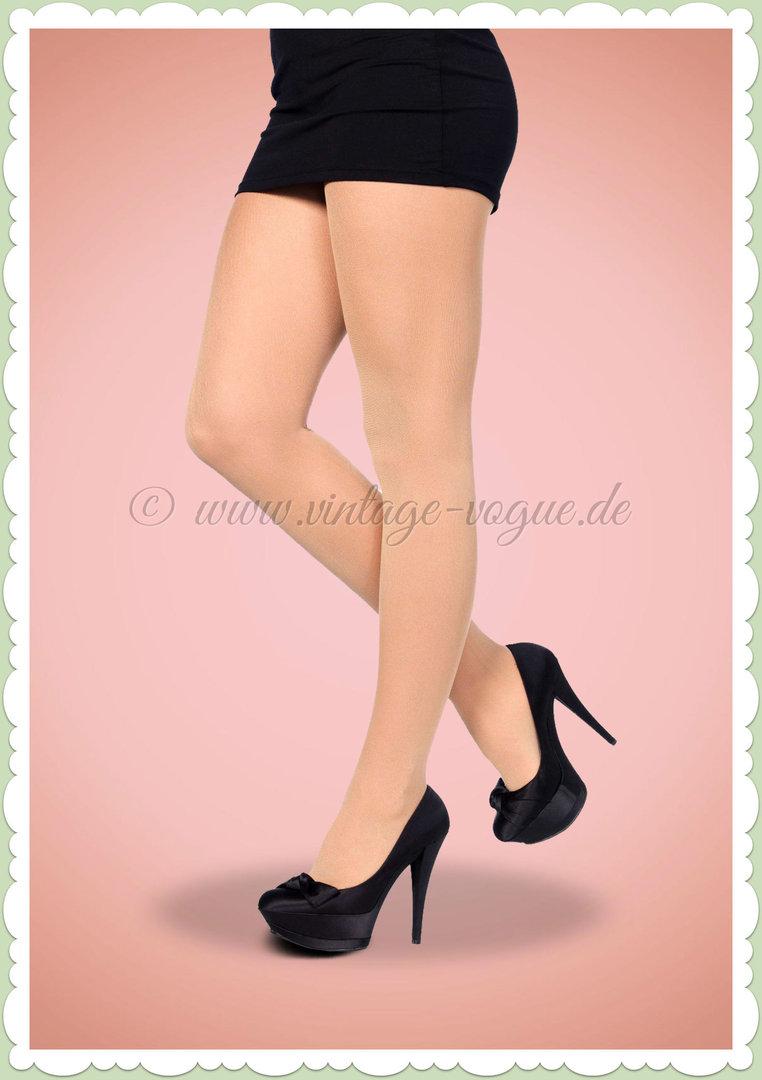 size 40 8d13f 3854b Leg Avenue Strumpfhose - Nylon Tights - Nude Hautfarben