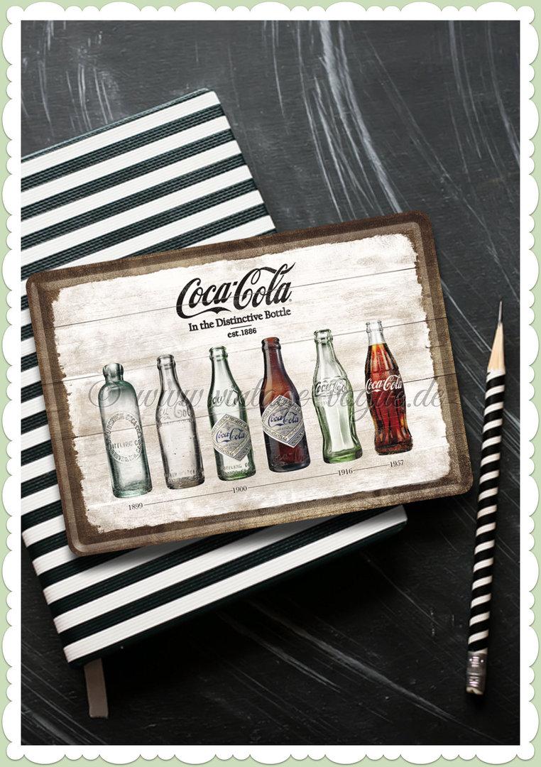 Nostalgic Art Retro Coke Blechpostkarte