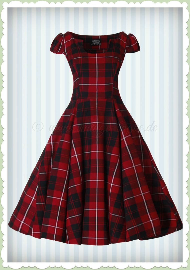 50er kleid mit petticoat