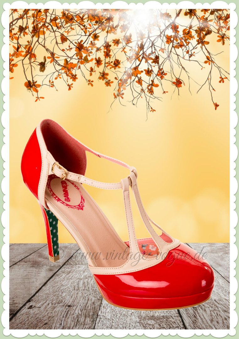Banned Schuhe Vintage Rockabilly Pumps Onlineshop