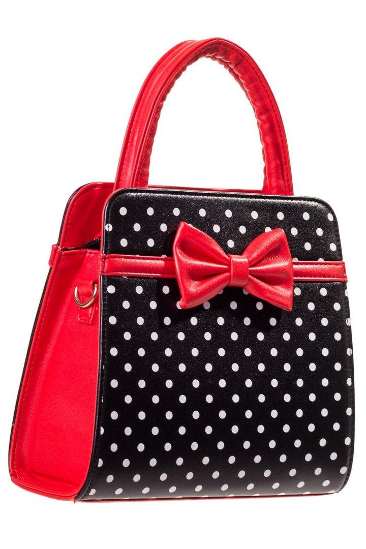 wholesale dealer f1b8e 41849 Banned 50er Jahre Vintage Punkte Handtasche - Carla Bag ...