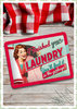 "Nostalgic Art Retro Pin Up Blechschild ""I finished your laundry"""