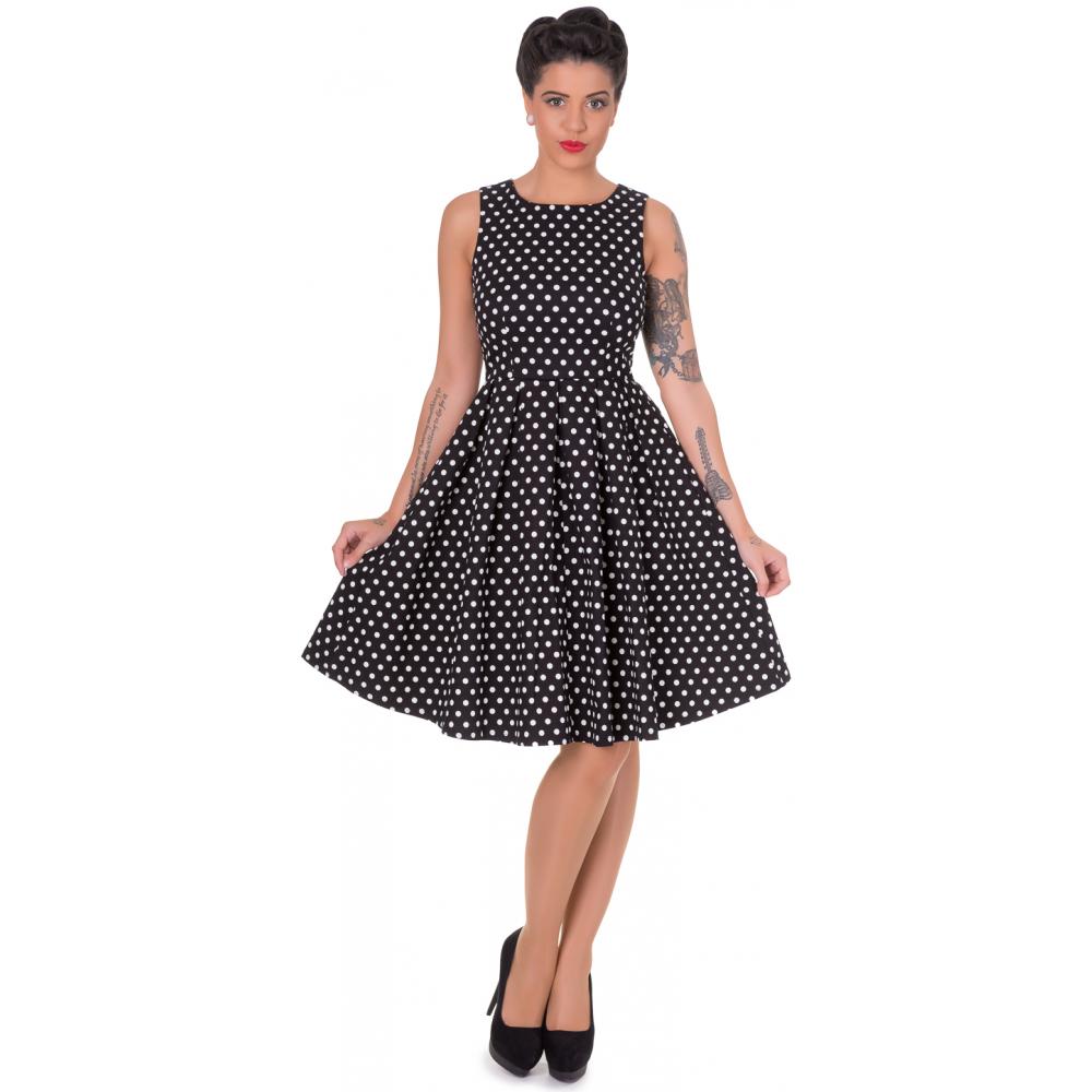dolly dotty 50er jahre retro punkte petticoat kleid. Black Bedroom Furniture Sets. Home Design Ideas