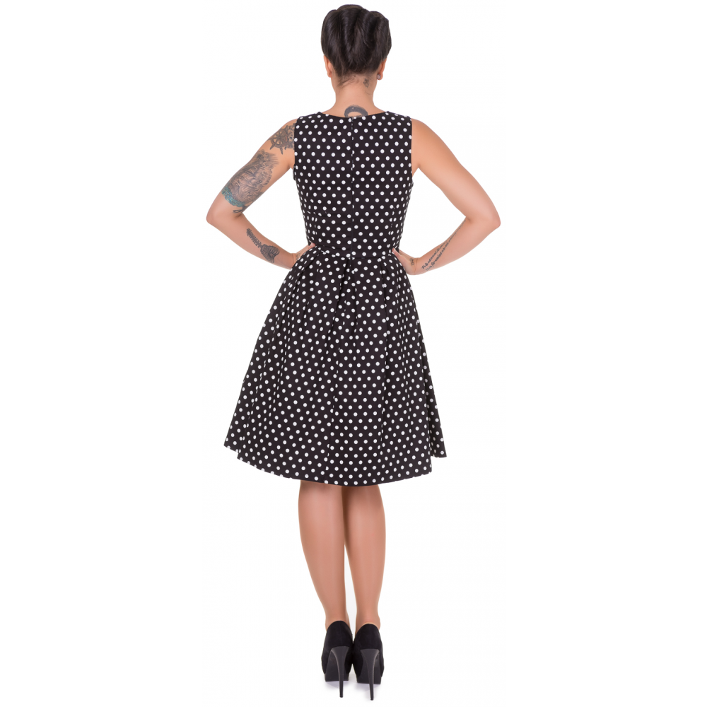 dolly dotty 50er jahre retro punkte petticoat kleid. Black Bedroom Furniture Sets. Home Design Ideas