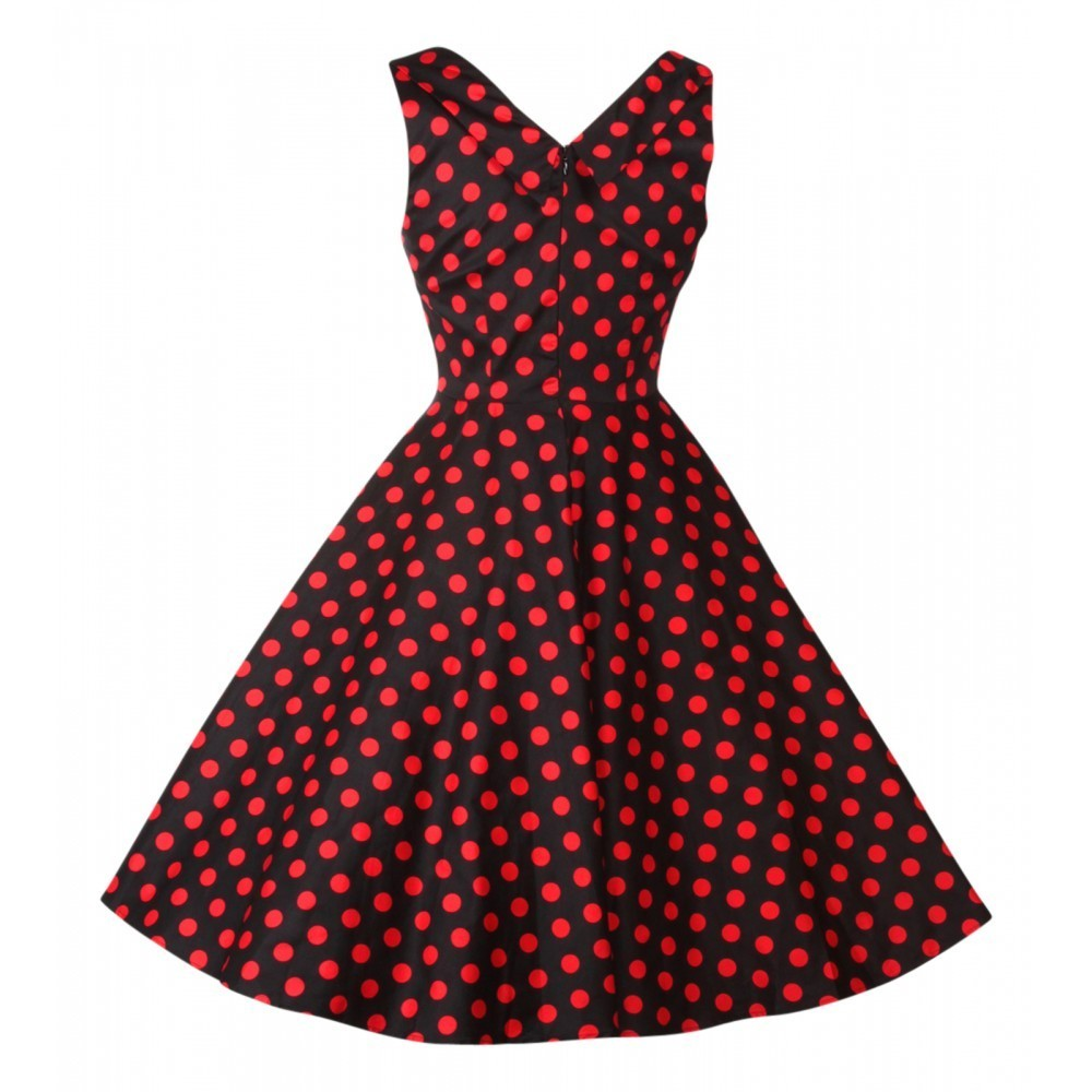 Jahre Kleid Petticoat Retro 50er Dotty Dollyamp; Grace Punkte wOulTPXZik