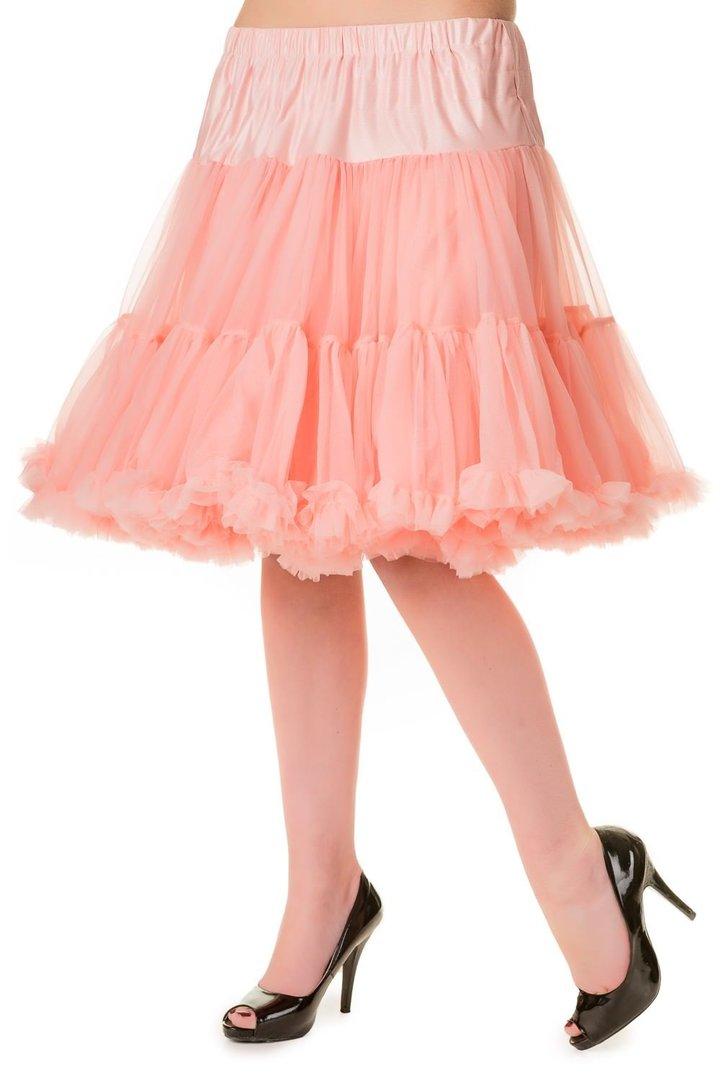 banned 1950 39 s rockabilly swing petticoat r schen tanzrock rosa. Black Bedroom Furniture Sets. Home Design Ideas