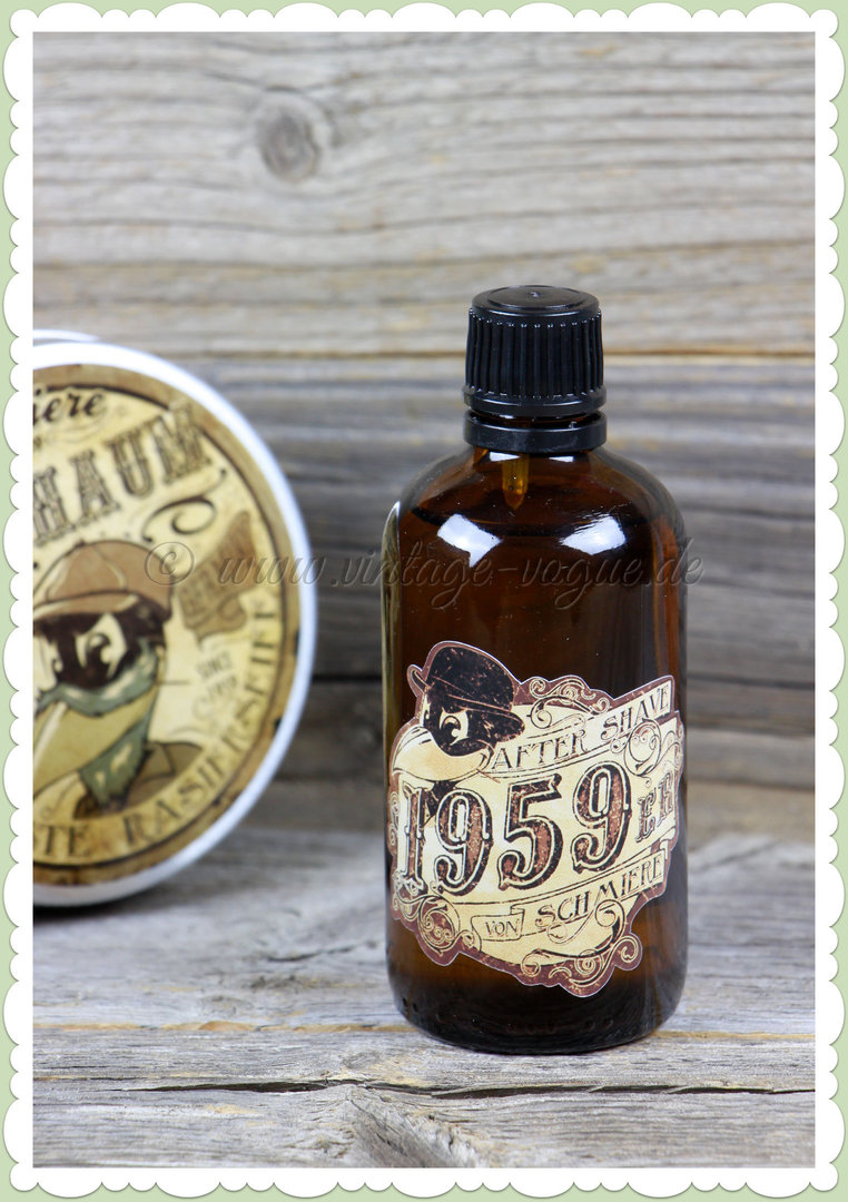 "Rumble59 50er Jahre Retro Barbershop After Shave ""1959er"""