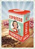 "Nostalgic Art Retro Say it 50´s Kaffeedose ""Espresso Yourself"""