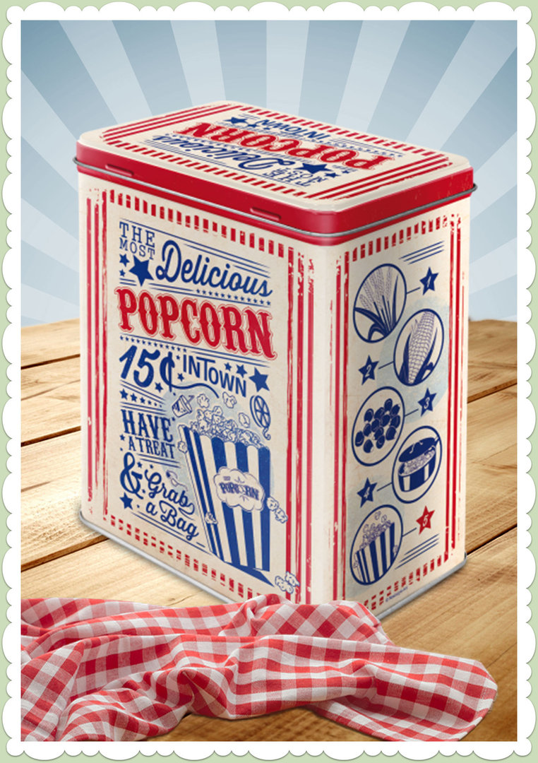 "Nostalgic Art Retro Say it 50´s Vorratsdose L ""Popcorn"""