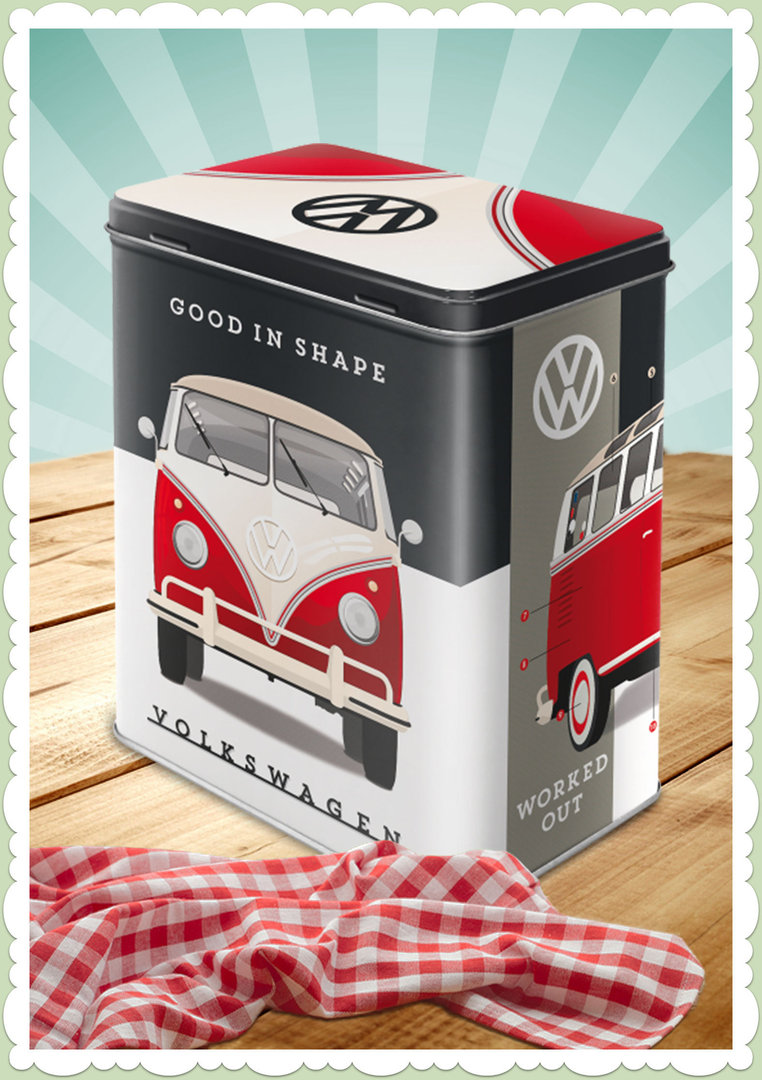 "Nostalgic Art Retro Say it 50´s Vorratsdose L ""VW - Good in Shape"""