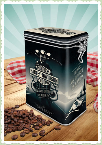 "Nostalgic Art Retro Harley Davidson Kaffeedose ""Things Are Different"""