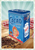 "Nostalgic Art Retro Kaffeedose ""Cacao Addicted"""