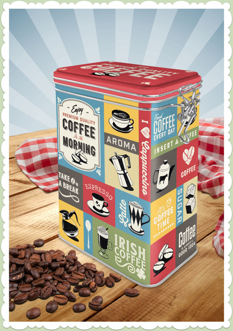 "Nostalgic Art Retro Coca Cola Kaffeedose ""Coffee Collage"""