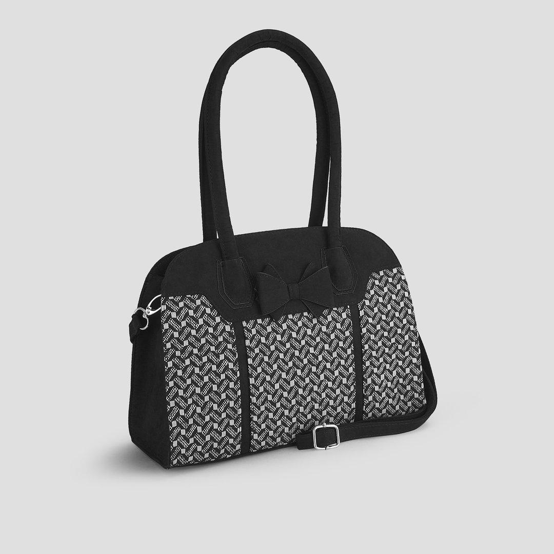 c24391f0b8f335 Ruby Shoo 60er Jahre Retro Vintage Handtasche - Kobe - Schwarz