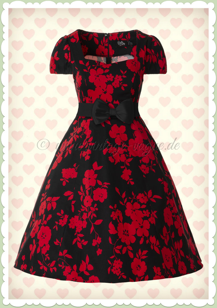 ♥ 50er 50s Fifties Stil Kleider ♥ www.different-dressed.de