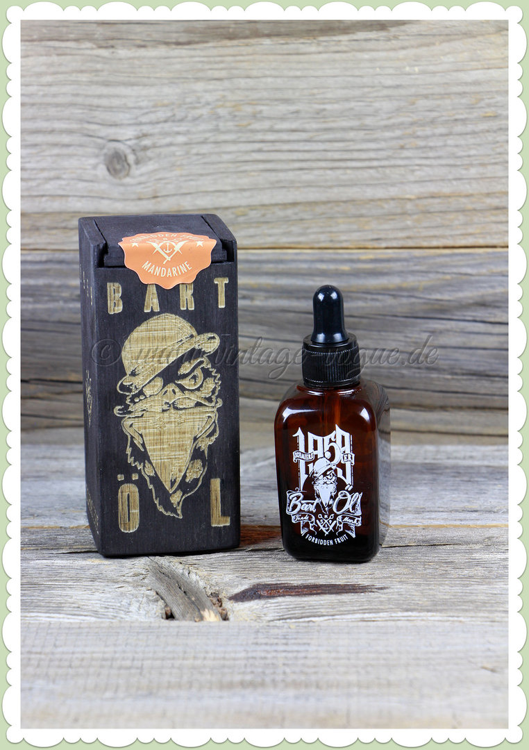 Rumble59 50er Jahre Retro Barbershop Bartöl Forbidden Fruits - Mandarine