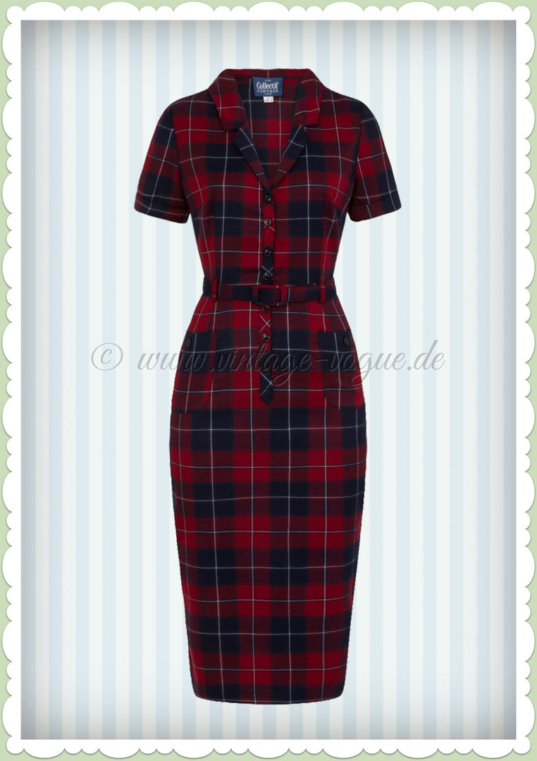 schwarz rot kariertes kleid where can i buy ed63c af837