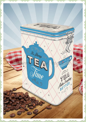 "Nostalgic Art Retro Aromadose Kaffeedose ""Home & Country - Tea"""