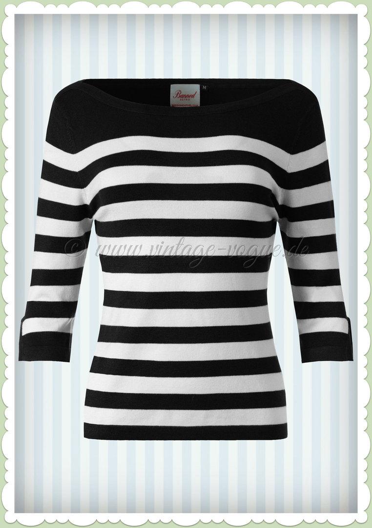 Privilige Schwarz Banned Pullover
