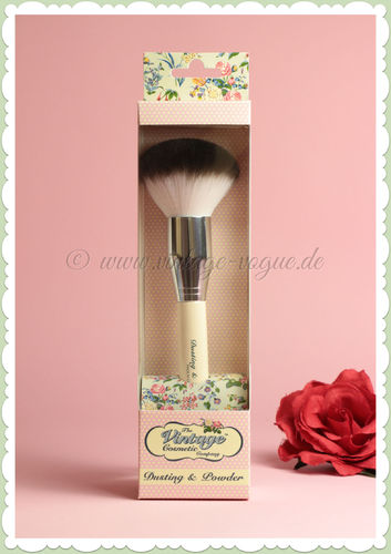 The Vintage Cosmetics Company -  Retro Make-Up Puder Pinsel