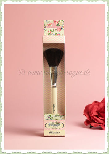 The Vintage Cosmetics Company -  Retro Make-Up Rouge Pinsel
