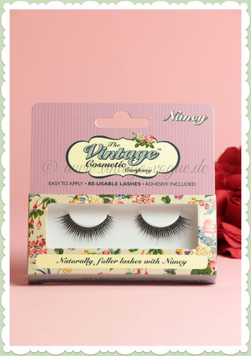 "The Vintage Cosmetics Company - Künstliche Retro Wimpern ""Nancy"""