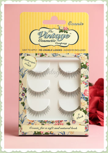 "The Vintage Cosmetics Company - Künstliche Retro Wimpern Set ""Connie"""