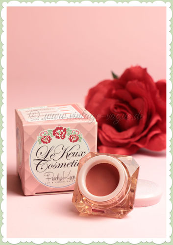 Le Keux Cosmetics - Vintage Make-Up Lippen & Rouge Farbe - Peachy Keen