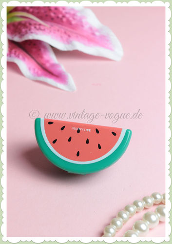 SunnyLife Retro Lippen Balsam / Pflege Fruit Salad - Watermelon