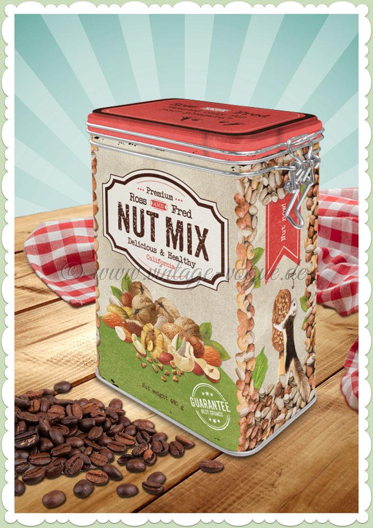 "Nostalgic Art Retro Kaffeedose ""Nut Mix"""