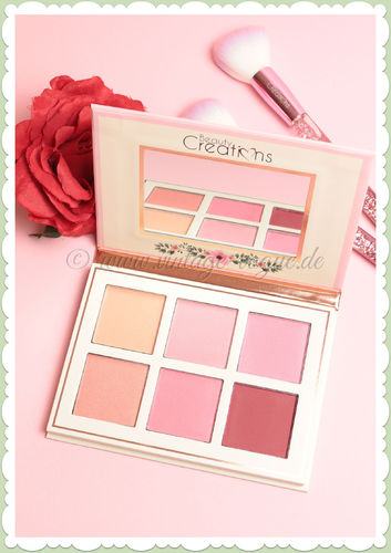 Beauty Creations -  Vintage Retro Make-Up Blush Palette - Floral Bloom