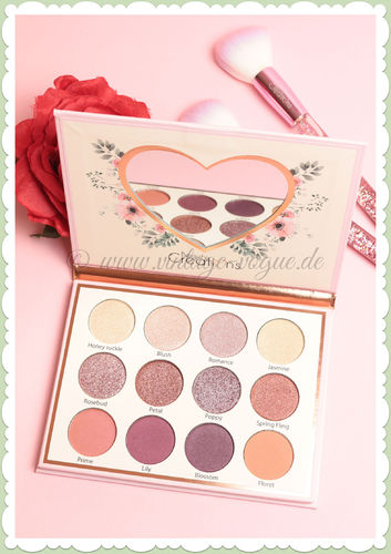 Beauty Creations -  Retro Make-Up Lidschatten Palette - Floral Eye Bloom