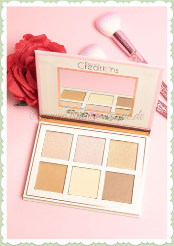 Beauty Creations -  Retro Make-Up Kontur & Highlight Palette - Floral Bloom