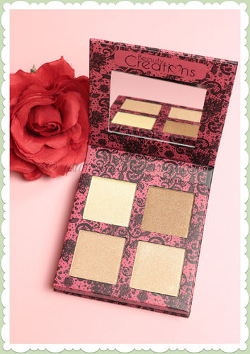 Beauty Creations -  Retro Make-Up Highlight Palette - Scandalous Glow