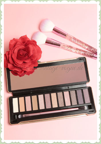 Beauty Creations -  Vintage Retro Make-Up Lidschatten Palette - Nudes