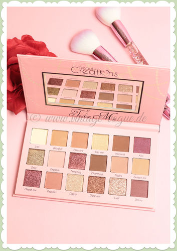 Beauty Creations -  Vintage Retro Make-Up Lidschatten Palette - Tease Me