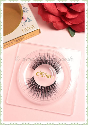 Beauty Creations - Künstliche Vintage Retro Seiden Wimpern - Pansy