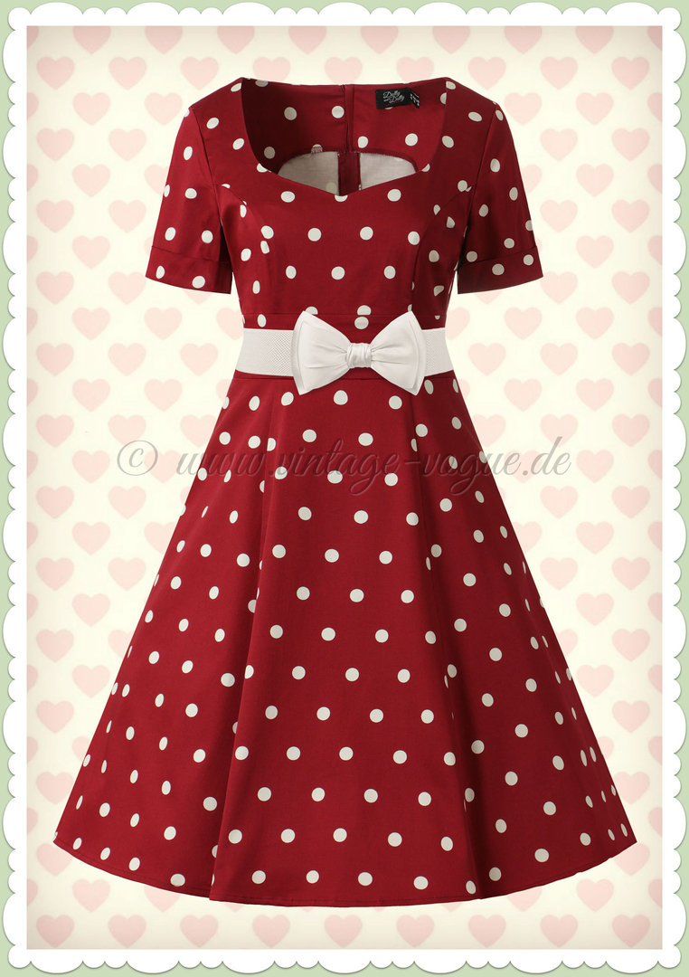 weiß kleid with braun polka dots coupon code for 96c8f cd8e1
