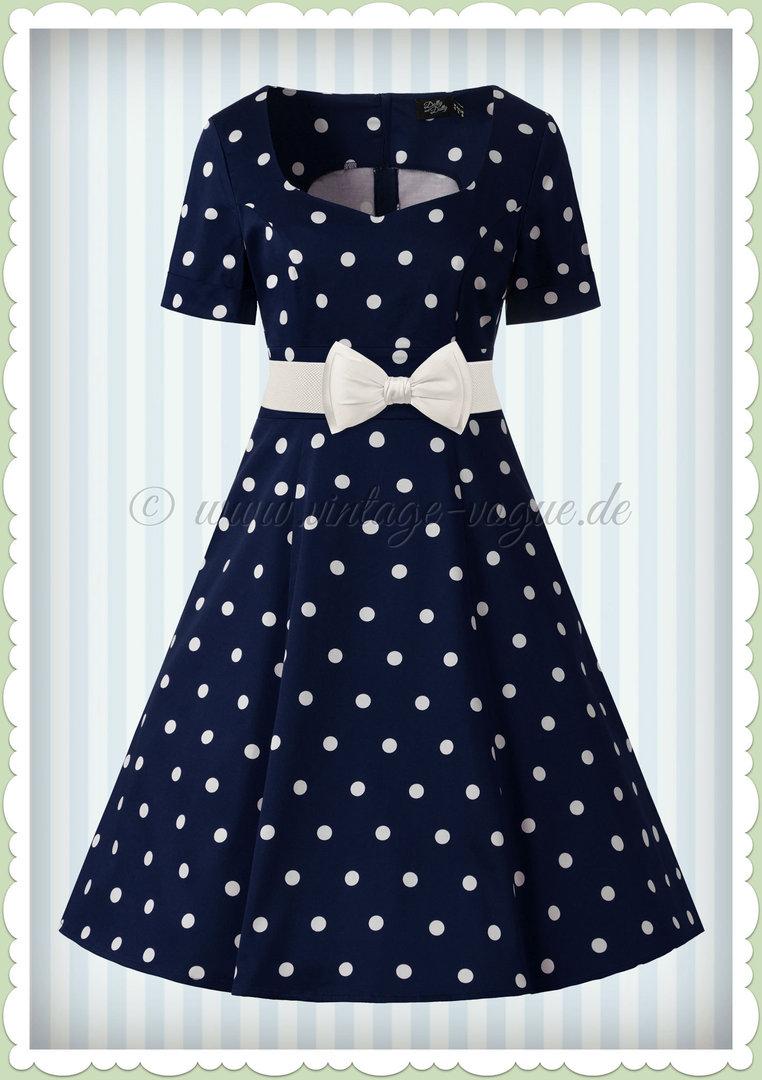 2019 Neupreis am besten kaufen unverwechselbares Design ♥ Punkte Polka Dots Kleider ♥ www.different-dressed.de