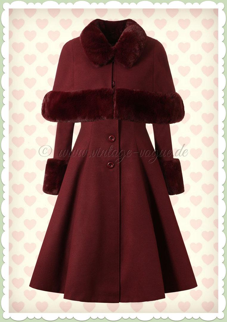 vintage rot braune jacke damen