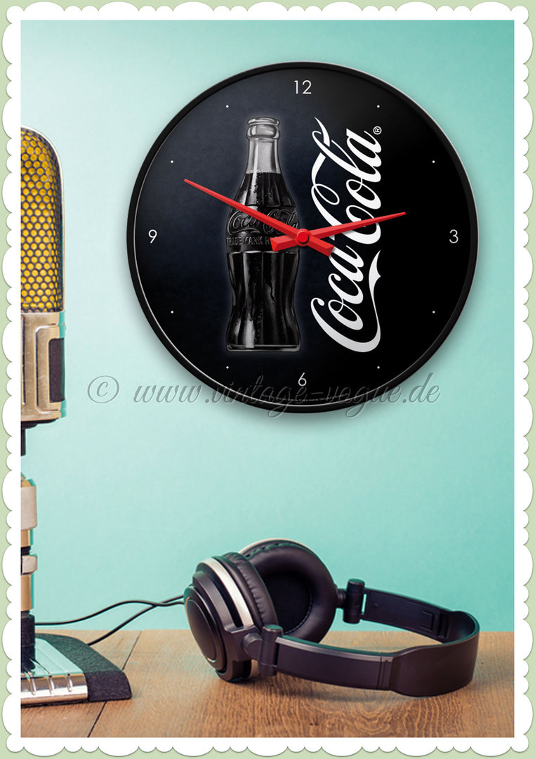 "Nostalgic Art Retro Volkswagen Wanduhr ""Coca-Cola - Sign Of Good Taste"""