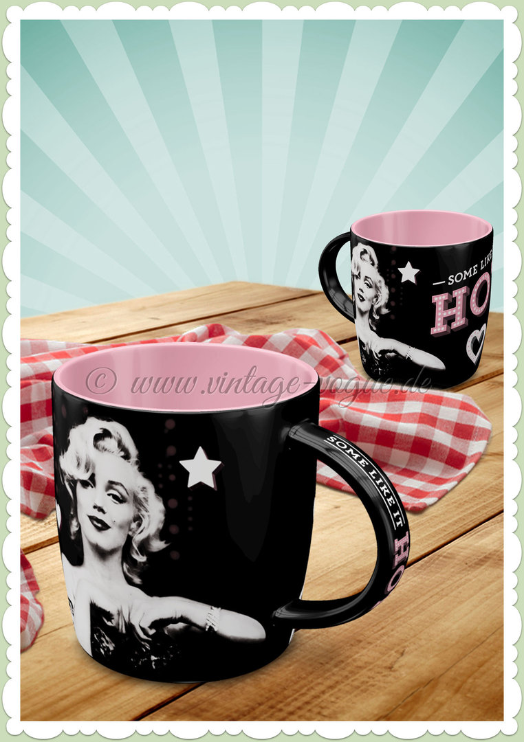 "Nostalgic Art Retro Celebrities Tasse ""Marilyn - Some Like It Hot"""