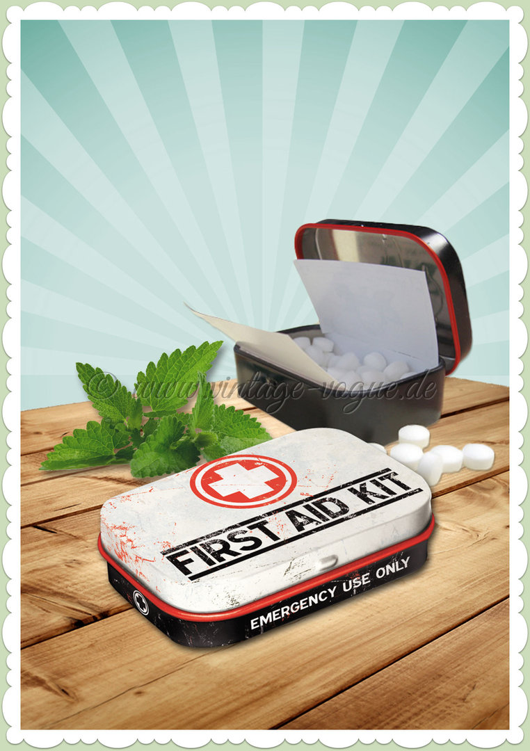 "Nostalgic Art Retro Vintage Pillendose ""First Aid Kit - Classic"""