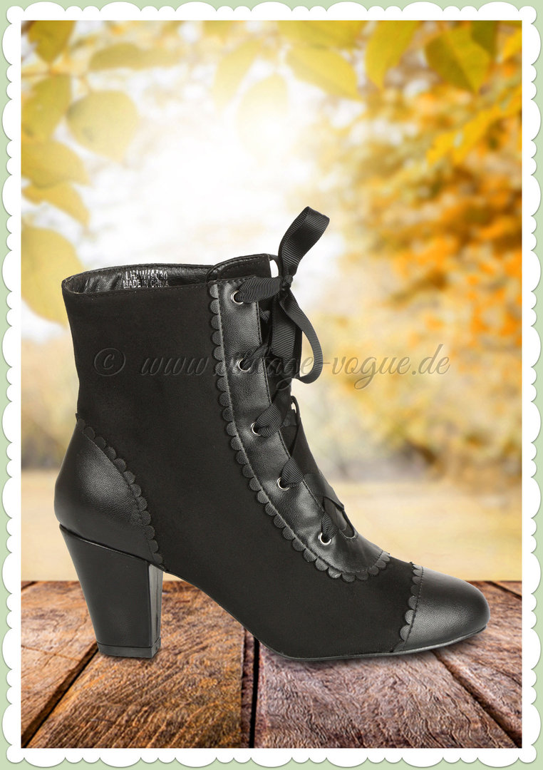 Collectif 50er Jahre Vintage Ankle Boot Stiefelette Sellma