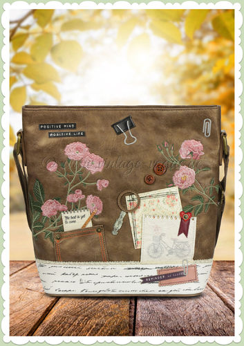 Vendula London 60er Jahre Hand Tasche - Scrapbook Vintage Stationary