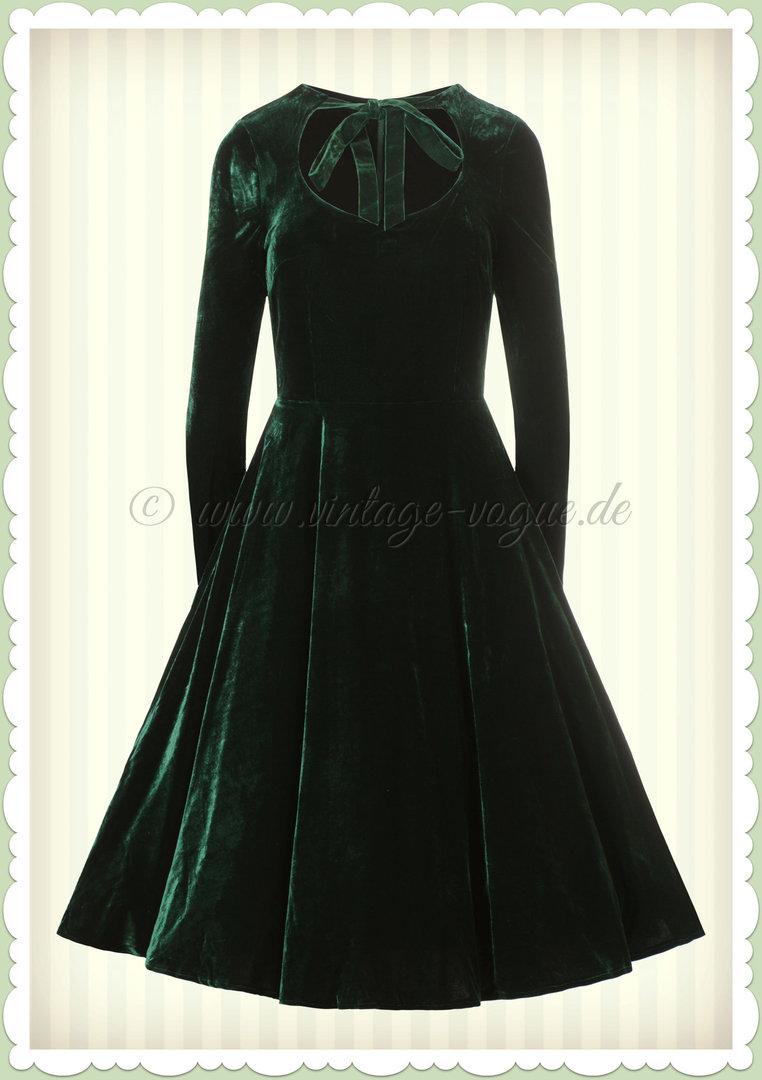kleid langarm grün 029c41