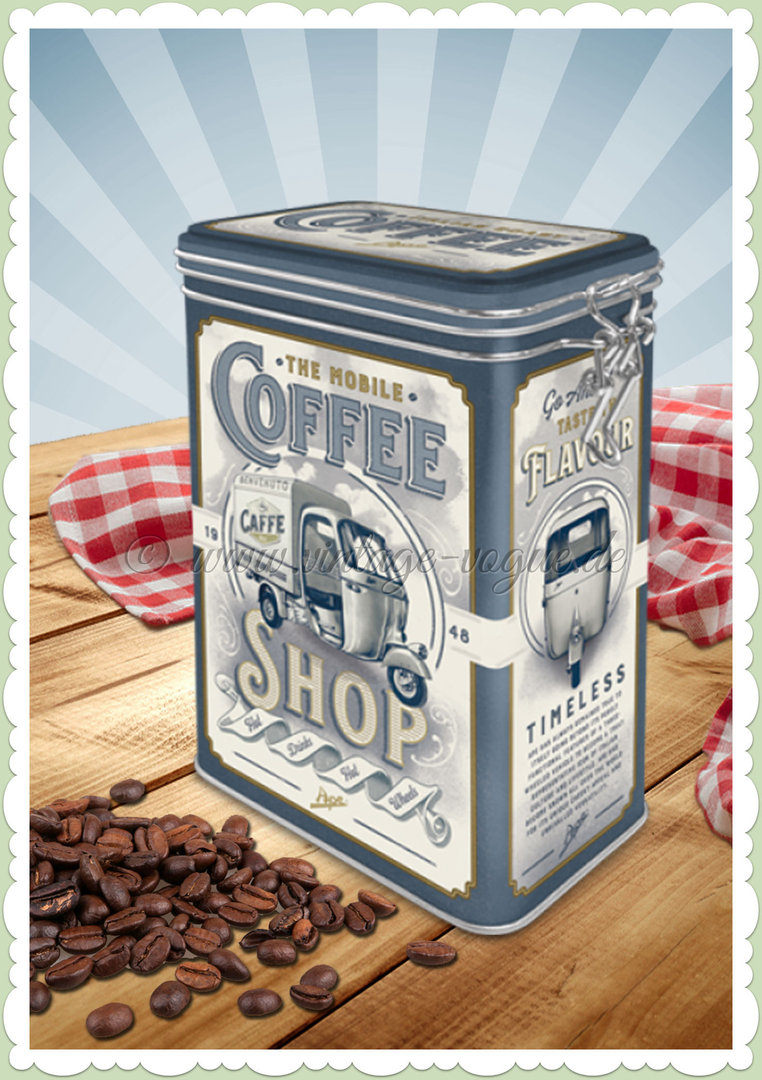 "Nostalgic Art Retro Aromadose Ape ""Coffee Shop"""
