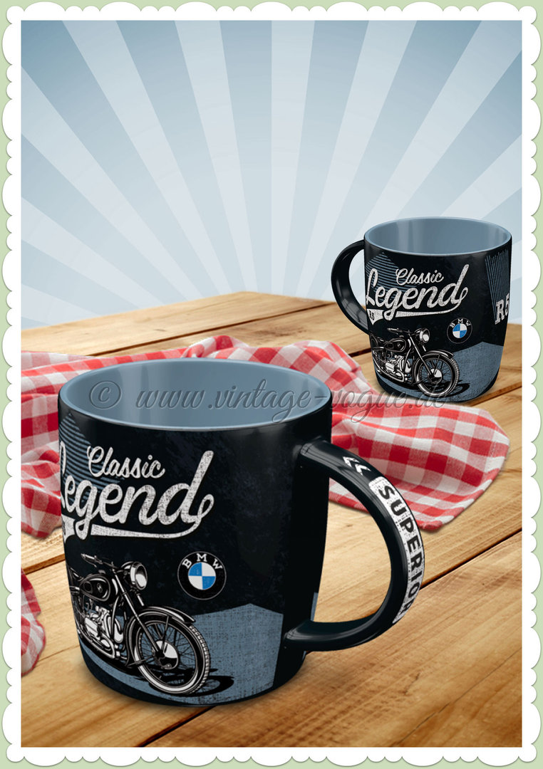 "Nostalgic Art Retro BMW Tasse ""Classic Legend"""